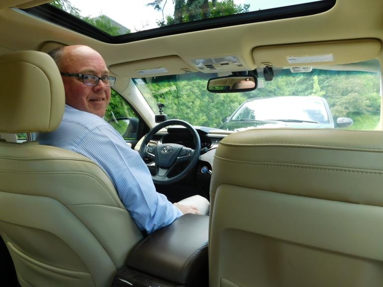 Tim Bingham in Toyota Avalon LTD
